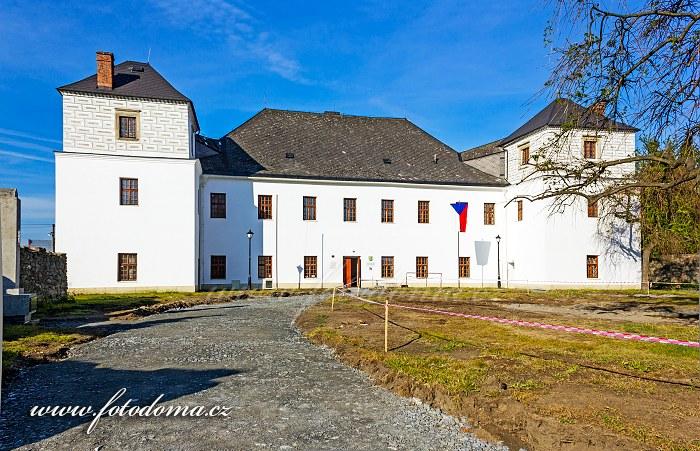 Zámek Vidnava (bývalé fojtství, dnes umělecká škola), Vidnava, okres Jeseník, Olomoucký kraj, Česká republika