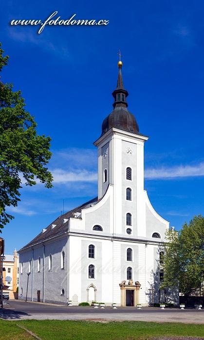 Kostel Nejsvětější Trojice, Javorník, okres Jeseník, Olomoucký kraj, Česká republika