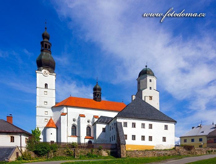 Kostel Archanděla Michaela a fojtství, Branná