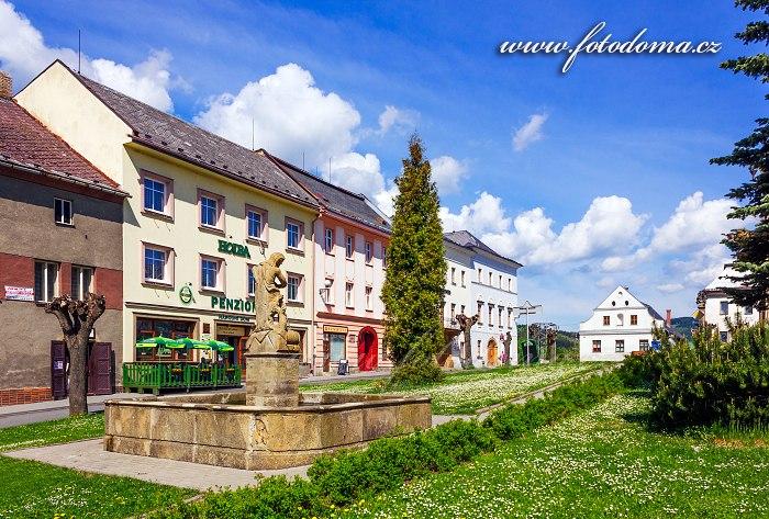 Náměstí Osvobození, Staré Město, okres Šumperk
