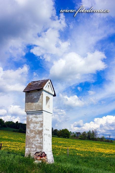 Boží muka, Vysoké Žibřidovice, část obce Hanušovice, okres Šumperk