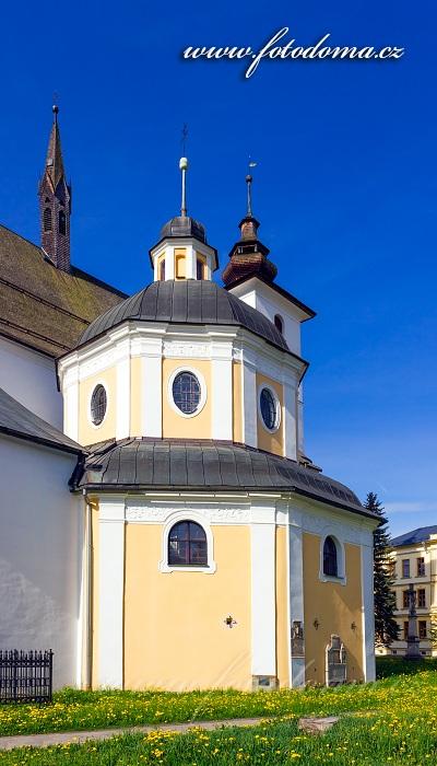 Kostel svatého Jana Křtitele a kaple sv. Kříže, Velké Losiny
