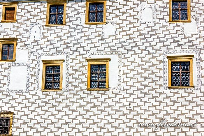 Zeď zámku Velké Losiny
