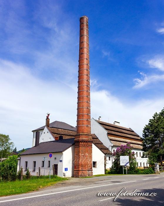 Ruční papírna, Velké Losiny, okres Šumperk, Olomoucký kraj, Česká republika