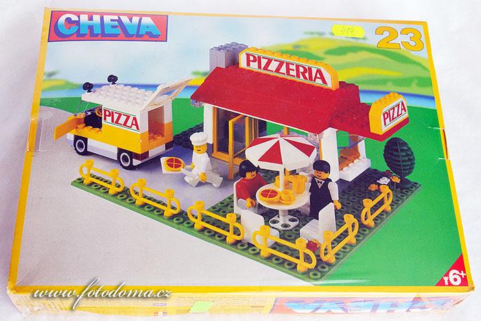 Stavebnice Cheva 23 pizzerie