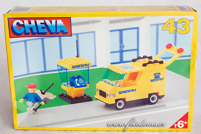 Stavebnice Cheva 43 auto telekomunikace