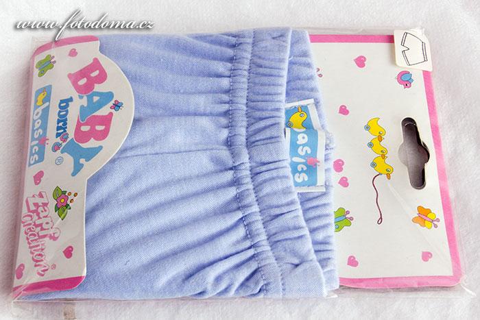 Oblečky Baby Born modré kalhoty krátké