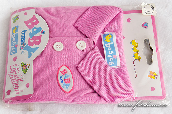 Oblečky Baby Born růžová košile