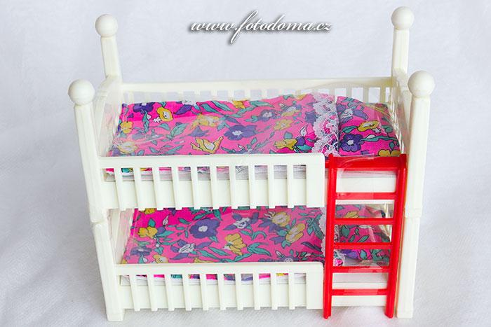 Patrové postele pro panenky (15 cm)