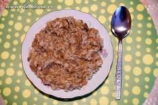 Houbové rizoto