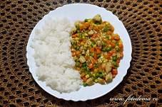 Kuřecí kousky se zeleninou