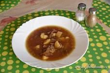 Hřibová polévka