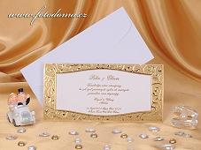 Svatební oznámení vzor 0891