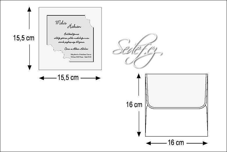 Rozměry svatebního oznámení 2430