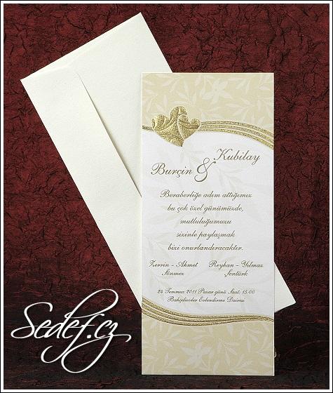 Svatební oznámení 2439