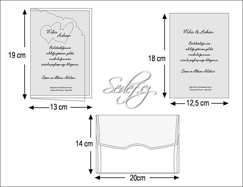 Rozměry svatebního oznámení 2440