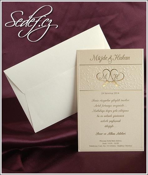 Svatební oznámení 2516