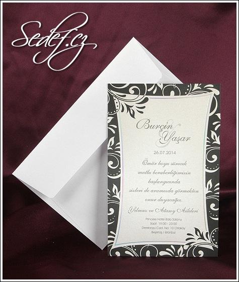 Svatební oznámení 2517