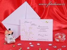 Svatební oznámení vzor 3185