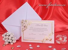 Svatební oznámení vzor 3186