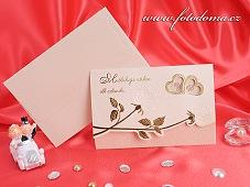 Svatební oznámení vzor 3205