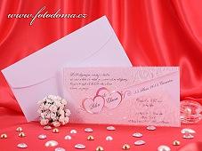Svatební oznámení vzor 3222