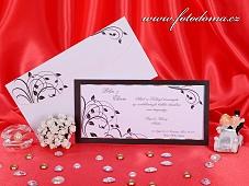 Svatební oznámení vzor 3227