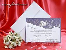 Svatební oznámení vzor 3309