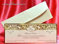Svatební oznámení vzor 3323