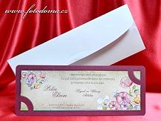 Svatební oznámení vzor 3367