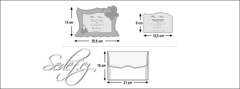 Rozměry svatebního oznámení 3596