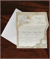 Svatební oznámení vzor 5343