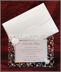 Svatební oznámení vzor 5347