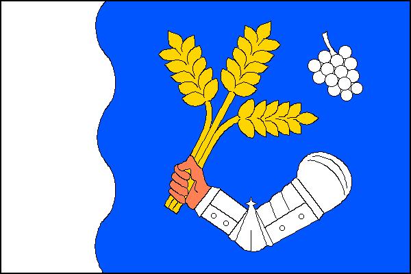 Vlajka obce Plenkovice